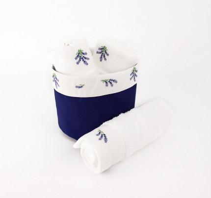 Cалфетки для кухни Tivolyo Lavender (3 предмета) 30х30