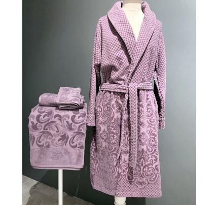 Халат Tivolyo Home Lisa (фиолетовый)