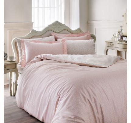 Постельное белье Tivolyo Home Punto (розовое)