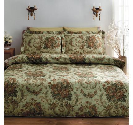 Постельное белье Tivolyo Royal (зеленое)