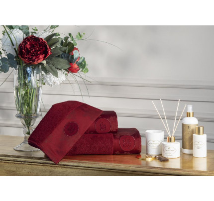 Набор полотенец Tivolyo Violetta 3 предмета + ароматизатор