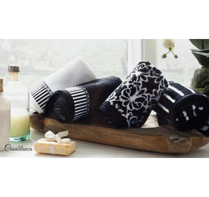 Набор салфеток Tivolyo Casablanca (4 предмета, черный) 40x60