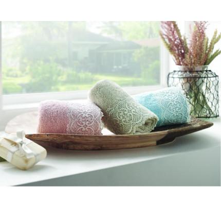 Набор салфеток Tivolyo Home Reply (3 предмета, бежевый, розовый, бирюзовый) 30x50