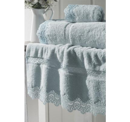 Полотенце Soft Cotton Victoria (бирюзовое)