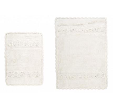Набор ковриков Irya Waltz ecru (40x60+60x90)