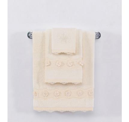Полотенце Soft Cotton Yonca (кремовое)