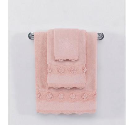 Полотенце Soft Cotton Yonca (розовое)