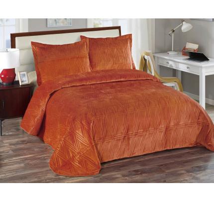 Покрывало Arya Zigzag (оранжевое)