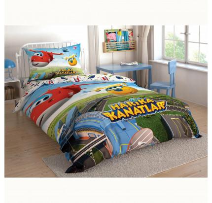 Детское постельное белье TAC Harika Kanatlar (Суперкрылья)