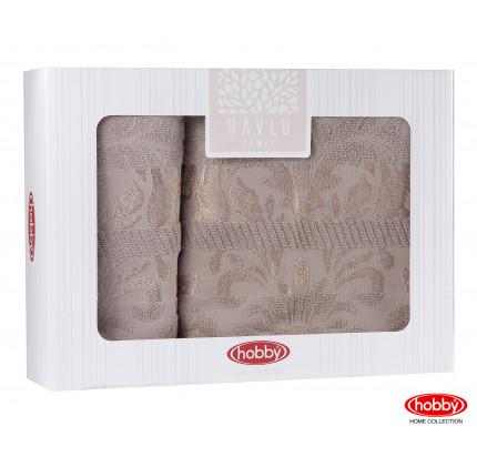 Набор полотенец Hobby Home Versal в коробке (2 предмета, коричневый)