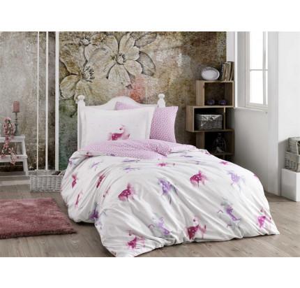 Hobby Home Mia (розовый) детское постельное белье