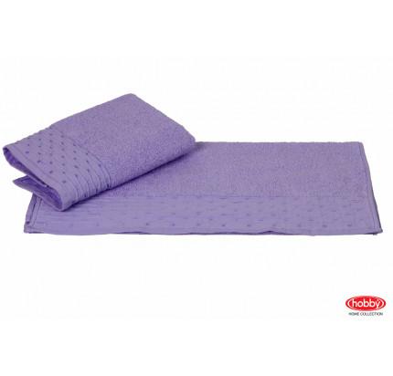 Полотенце Hobby Home Collection Gofre (лиловое)
