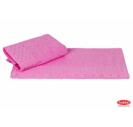 Полотенце Hobby Home Collection Gofre (розовое)