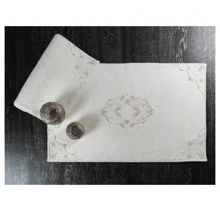 Набор ковриков Karven Orion кремовый (50x60+60x100)