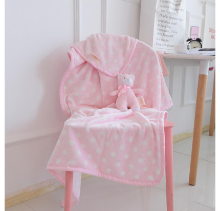 Детский плед Sofi de Marko Тедди (розовый) 100x150