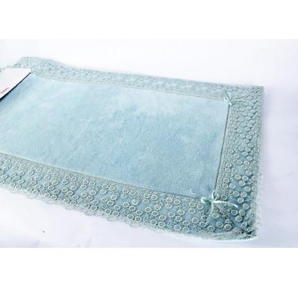 Набор ковриков Karven Vals бирюзовый (50x60+60x100)