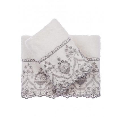 Набор салфеток Tivolyo Lina (3 предмета, серый) 30x50