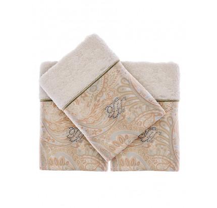 Набор салфеток Tivolyo Home Etto (3 предмета, экрю) 30x50