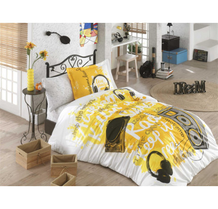 Hobby Home Live Music (желтый) детское постельное белье