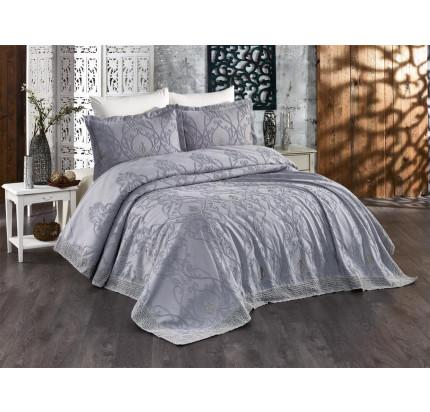 Комплект с покрывалом Evelina Milas серый 7 предметов