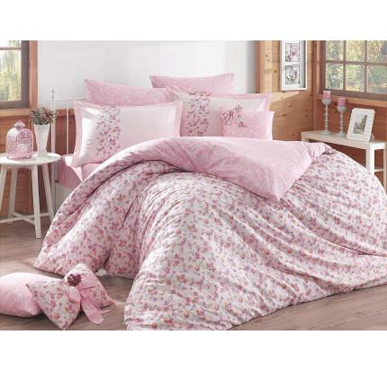 Постельное белье Hobby Home поплин Luisa (розовый)