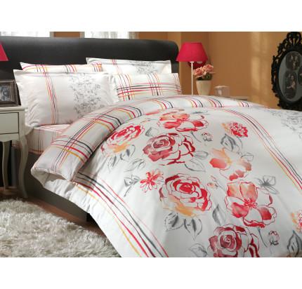 Постельное белье Hobby Home сатин Arabella (красный)