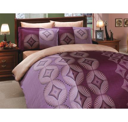 Постельное белье Hobby Home сатин Gris (фиолетовый)