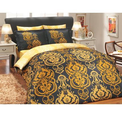 Постельное белье Hobby Home сатин Monart (золото)