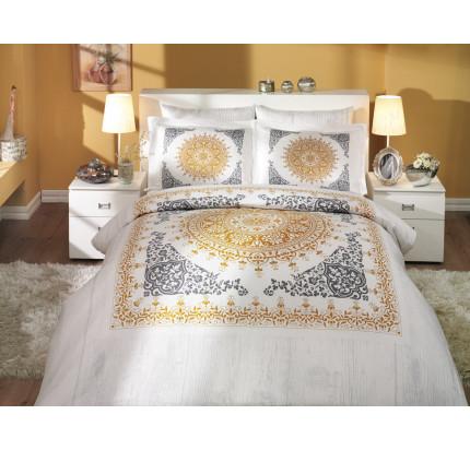 Постельное белье Hobby Home сатин Saphire (золото)