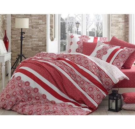 Постельное белье Hobby Home сатин Lisa (красный)