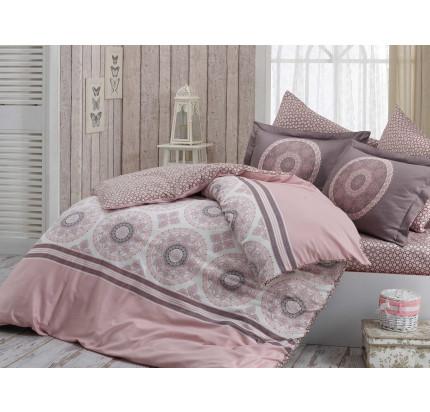 Постельное белье Hobby Home сатин Silvana (розовый)