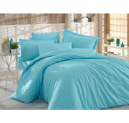 Постельное белье Hobby Home Stripe (голубой)