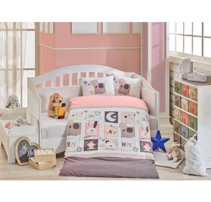 Набор в кроватку Hobby Home Sweet Home (розовый)