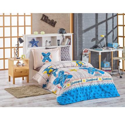 Hobby Home Skateboard (синий) детское постельное белье