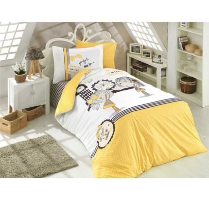 Hobby Home Smile (желтый) детское постельное белье