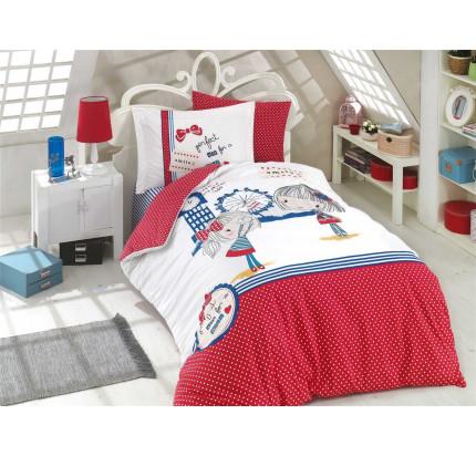 Hobby Home Smile (красный) детское постельное белье