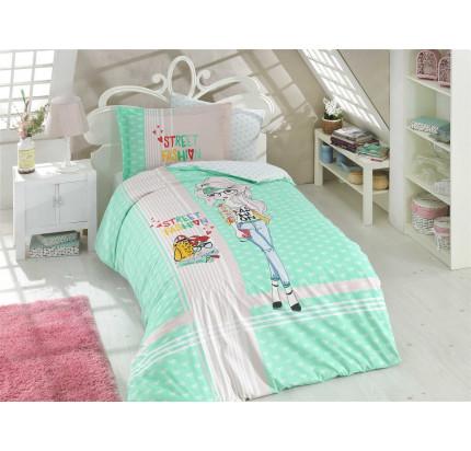 Hobby Home Street Fashion (зеленый) детское постельное белье