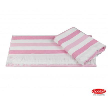 Полотенце Hobby Home Collection Stripe (розовый)