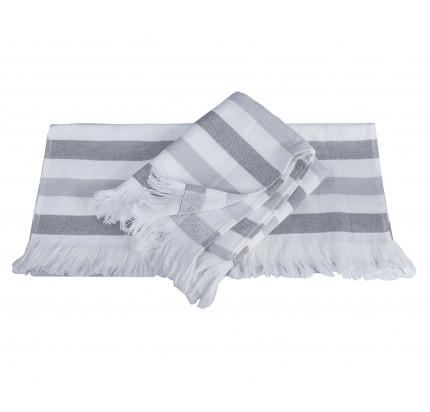 Полотенце Hobby Home Collection Stripe (серый)