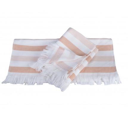 Полотенце Hobby Home Collection Stripe (персиковый)