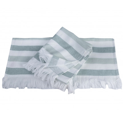 Полотенце Hobby Home Collection Stripe (зеленый)