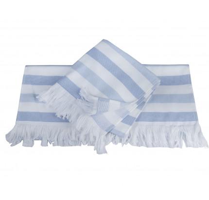 Полотенце Hobby Home Collection Stripe (голубой)