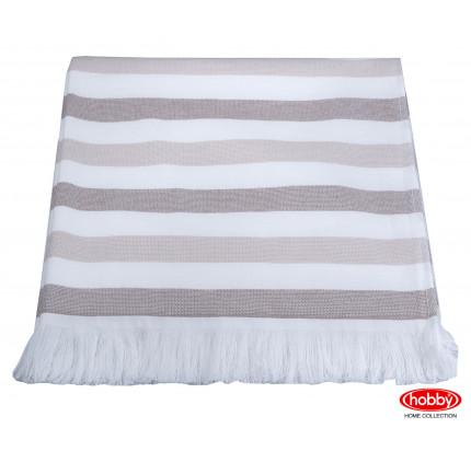 Полотенце Hobby Home Collection Stripe (коричневый)