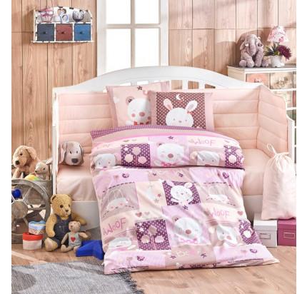 Набор в кроватку Hobby Home Baby Snoopy (розовый)