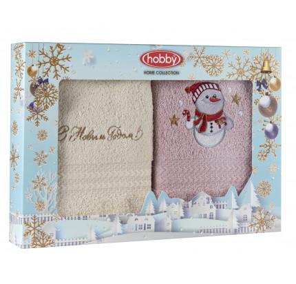 Набор новогодних салфеток Hobby Home A8 (30x50, 2 предмета)