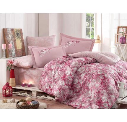 Постельное белье Hobby Home сатин Romina (розовый)