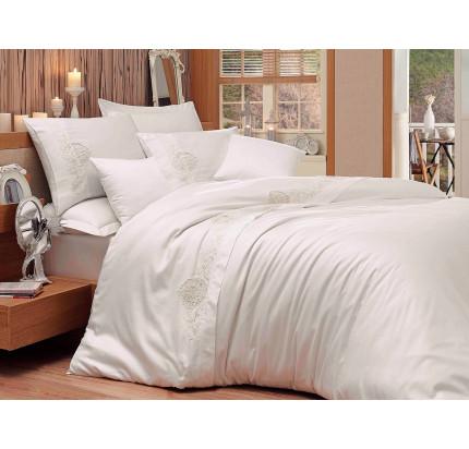 Постельное белье Hobby Home Antonia (кремовый) евро