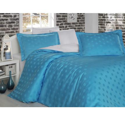 Постельное белье Hobby Home Diamond Spot (бело-голубой)
