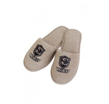 Тапочки Soft Cotton Luxure (бежевый)