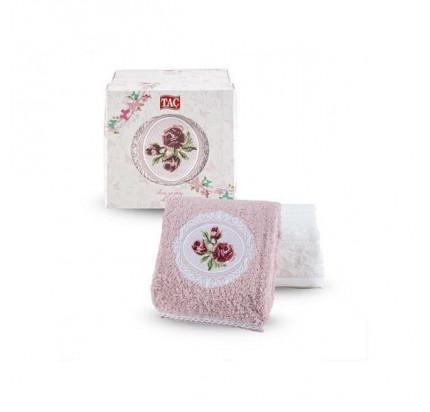 Набор полотенец TAC Lina (50x90 - 2 шт., пудра-кремовый)